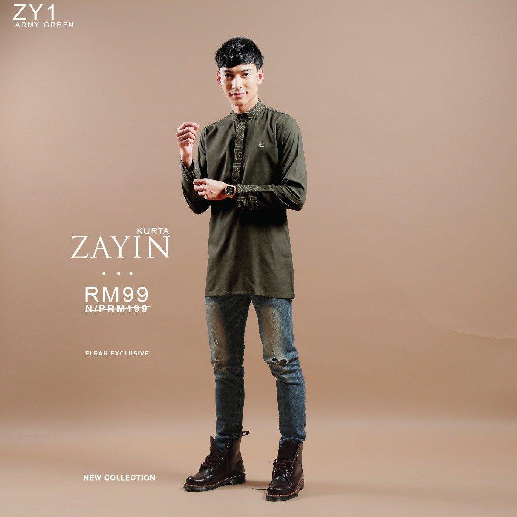 Zayin Army Green