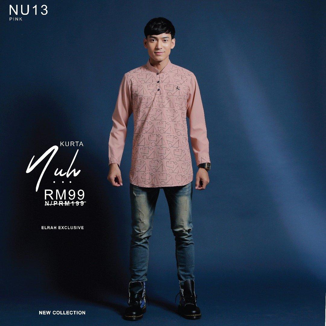 Kurta Nuh Pink