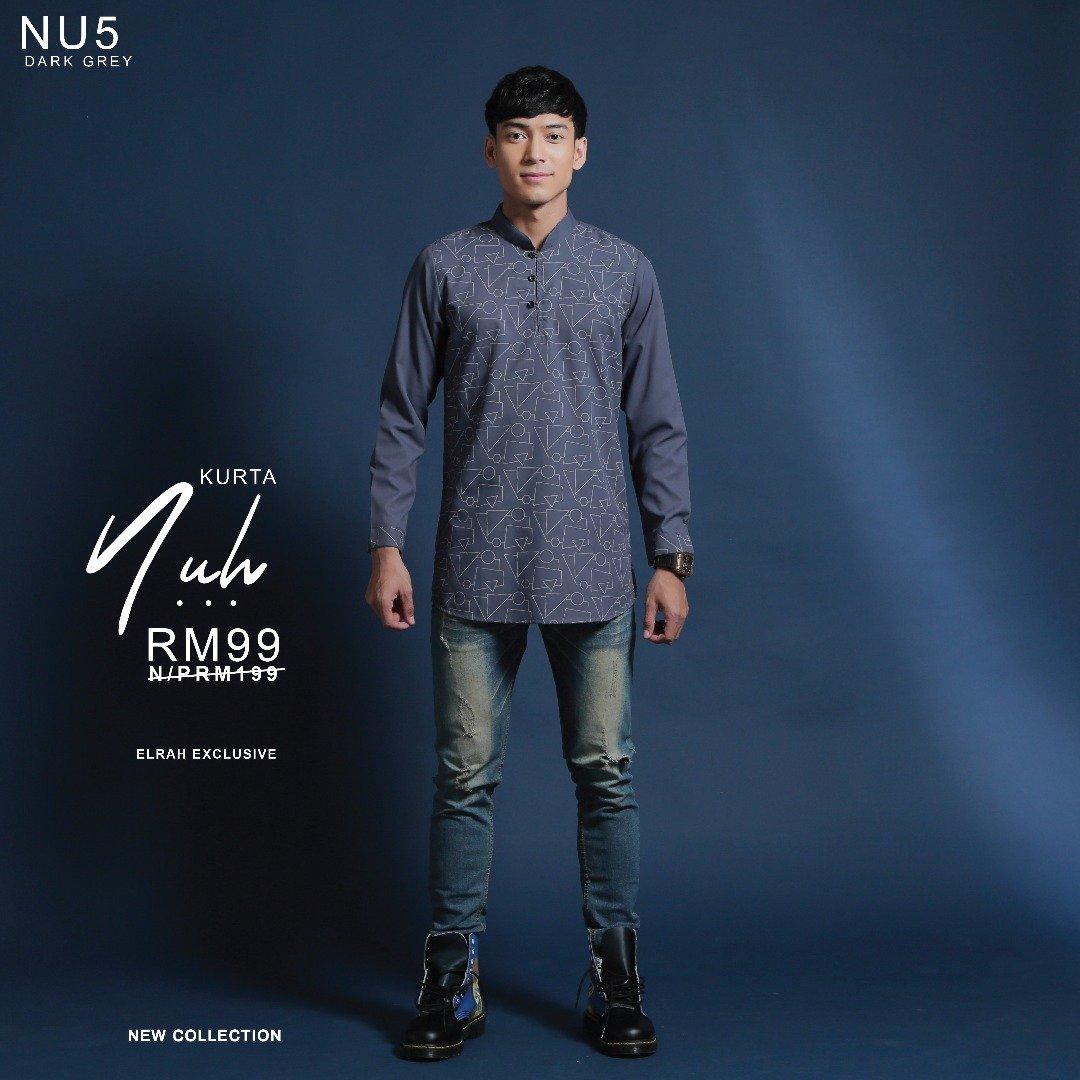 Kurta Nuh Dark Grey