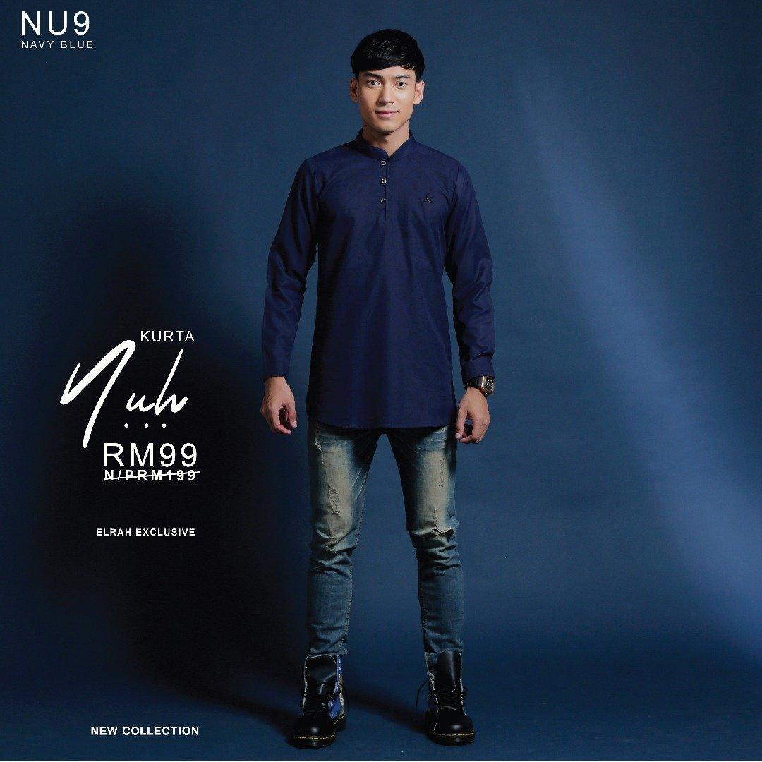 Kurta Nuh Navy Blue