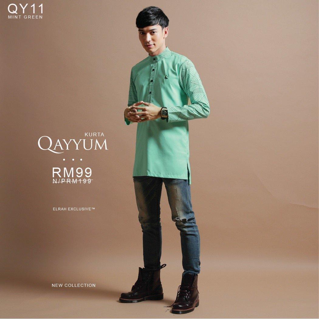 Kurta Qayyum Mint Green
