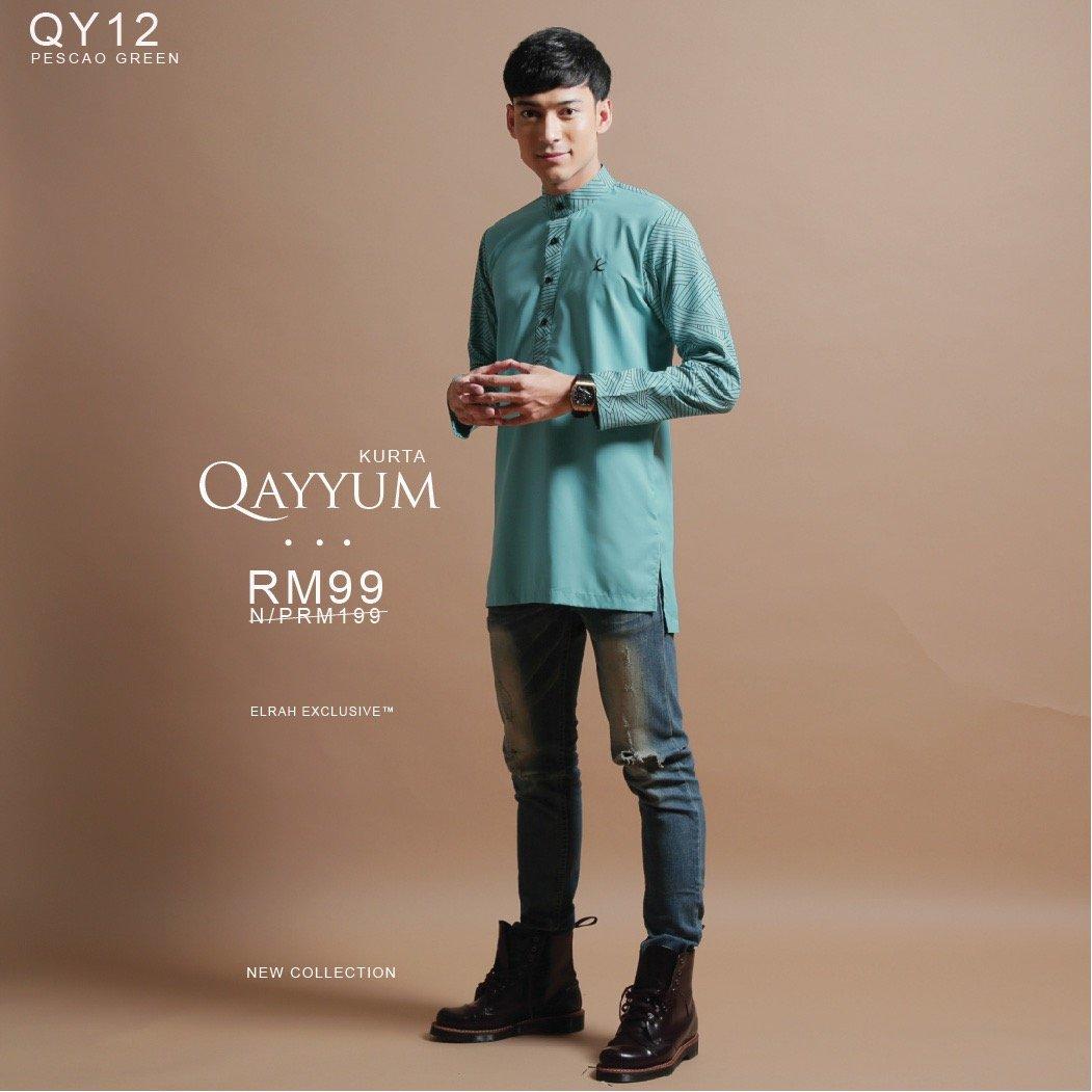 Kurta Qayyum Pescao Green