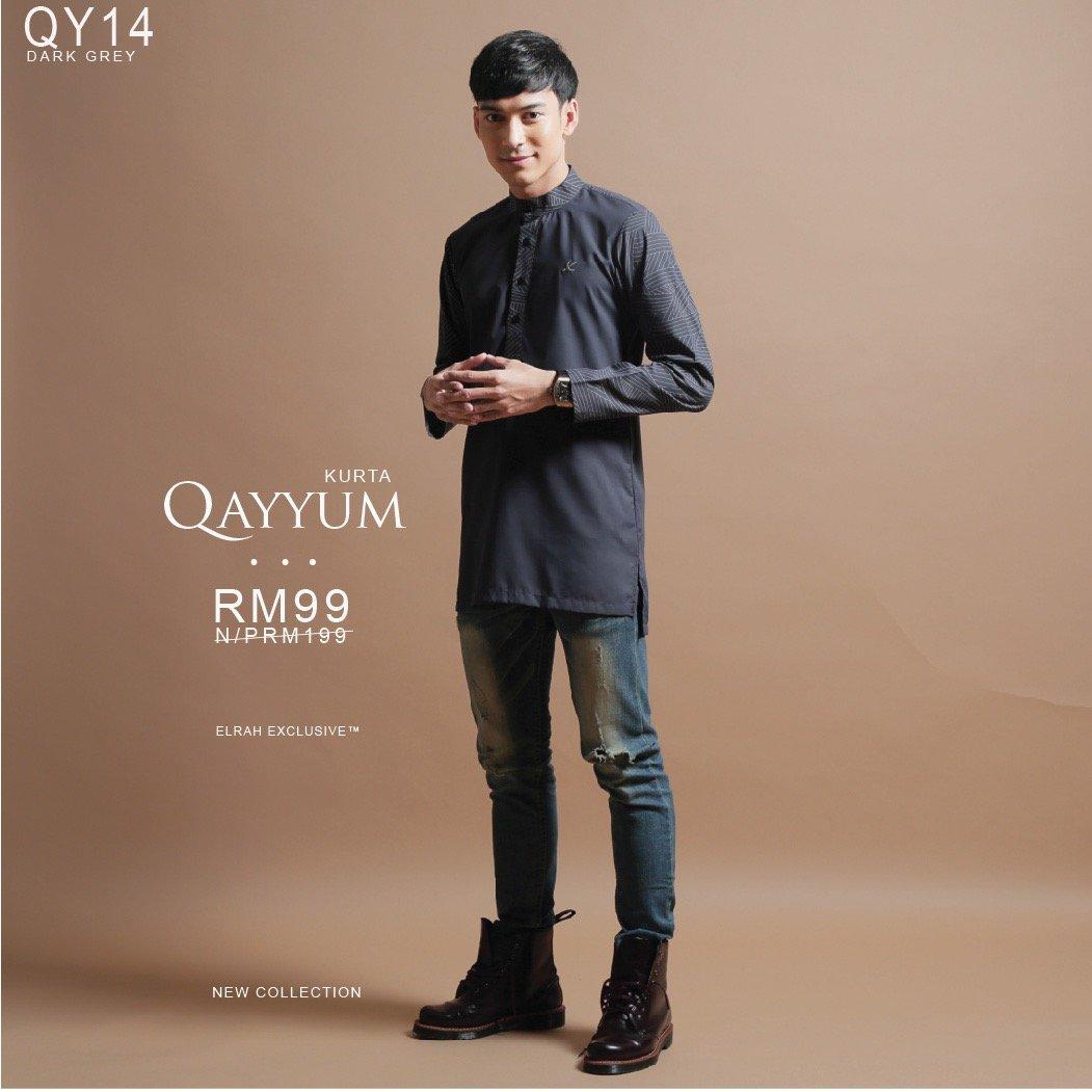 Kurta Qayyum Dark Grey