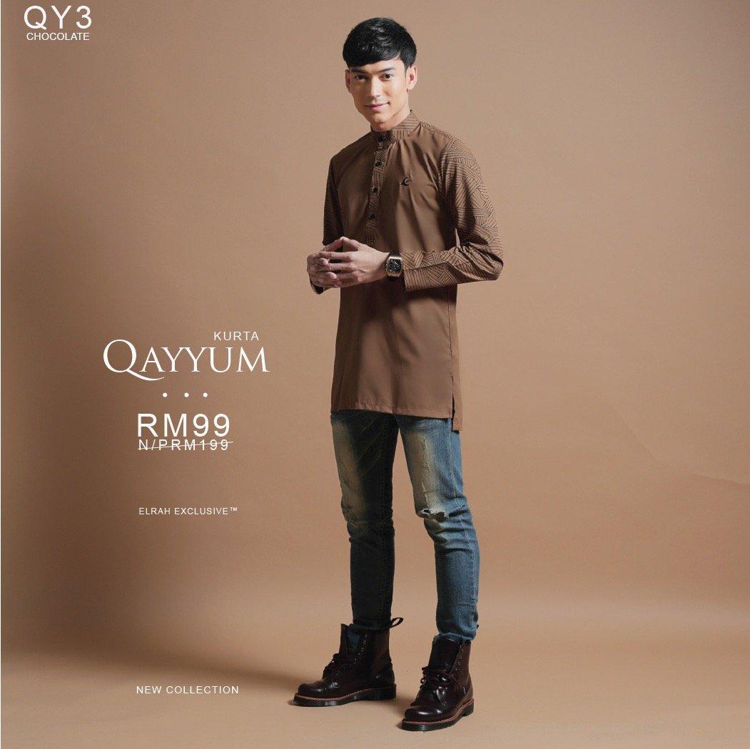 Kurta Qayyum Chocolate