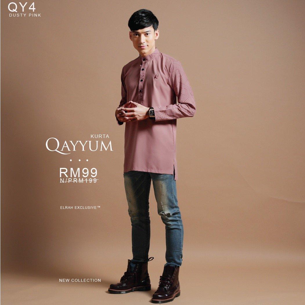 Kurta Qayyum Dusty Pink