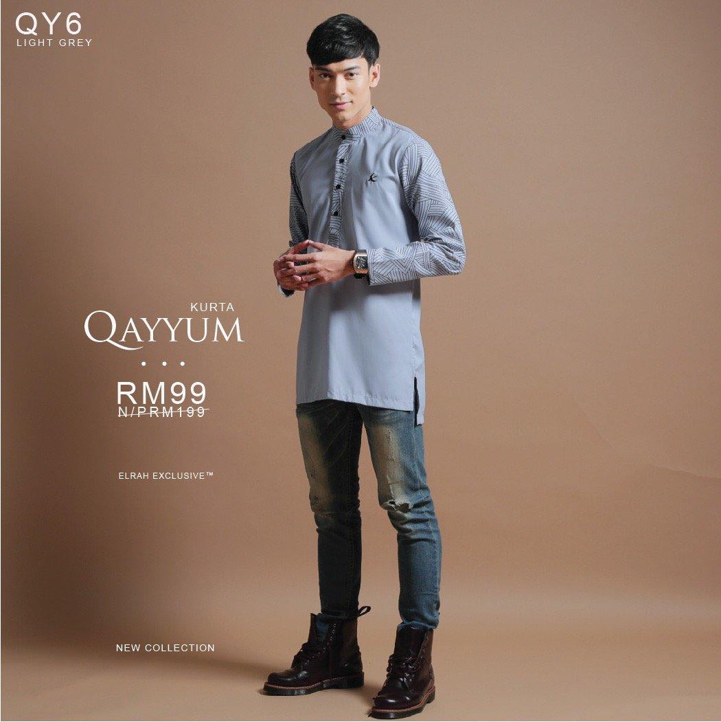 Kurta Qayyum Light Grey