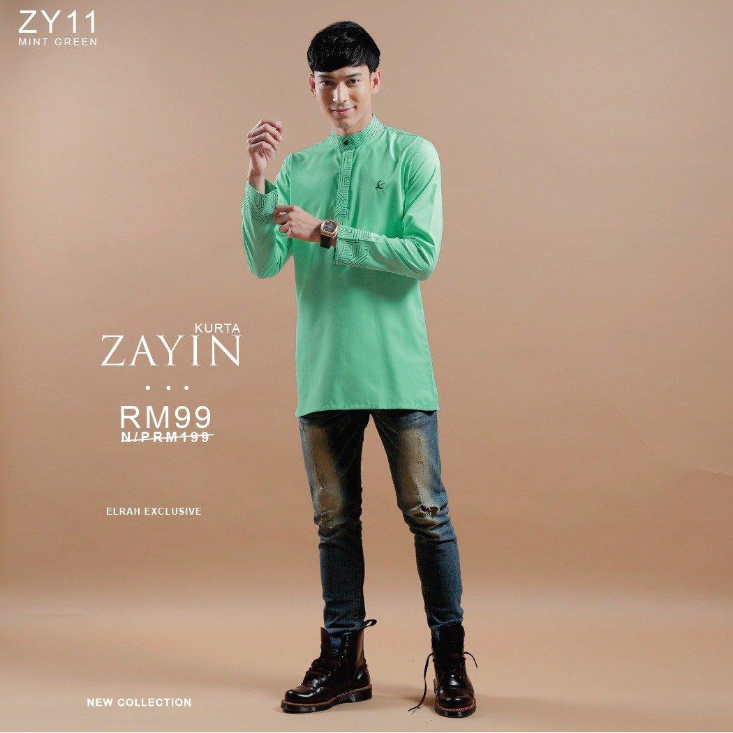Kurta Zayin Mint Green