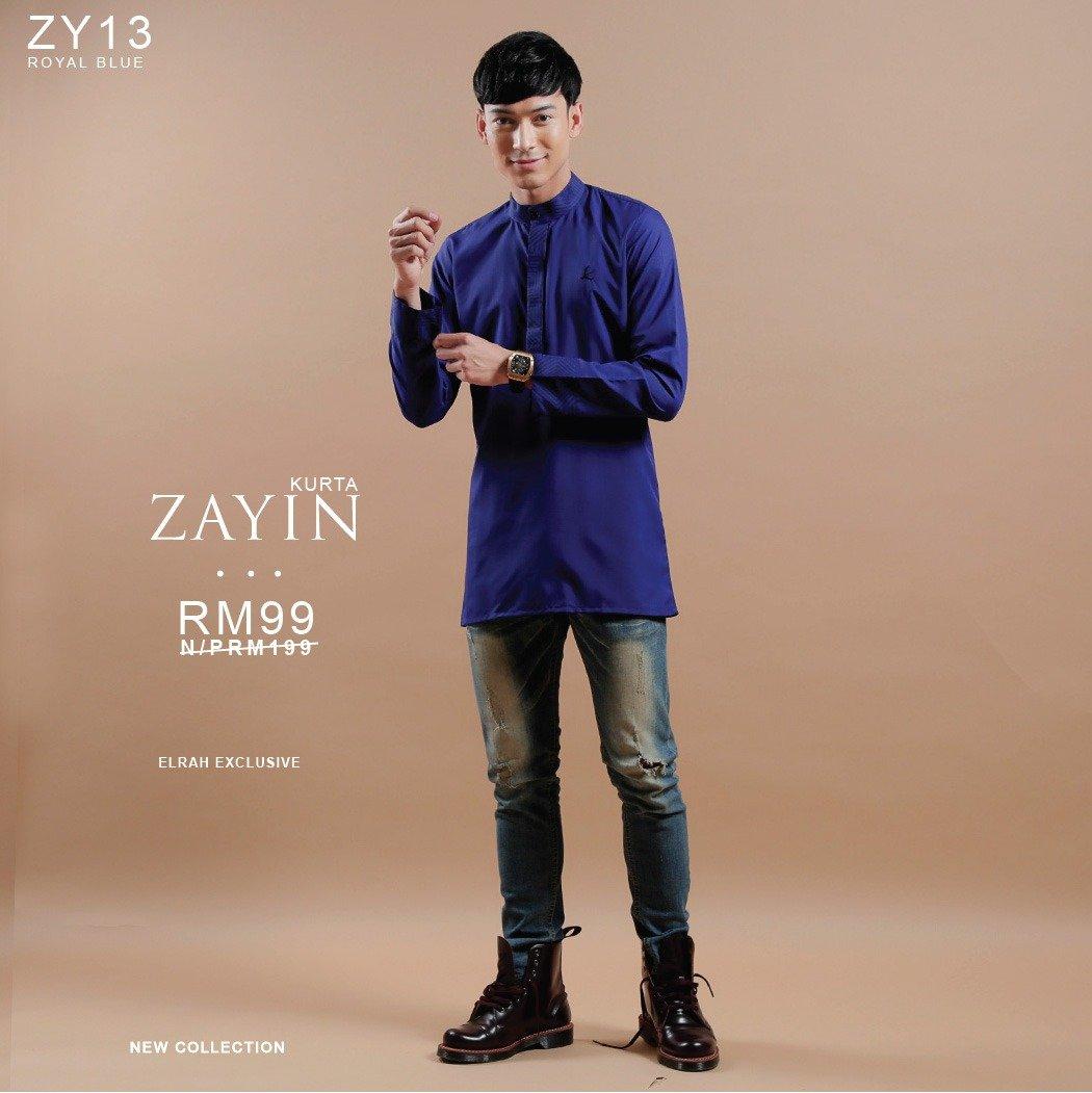 Kurta Zayin Royal Blue