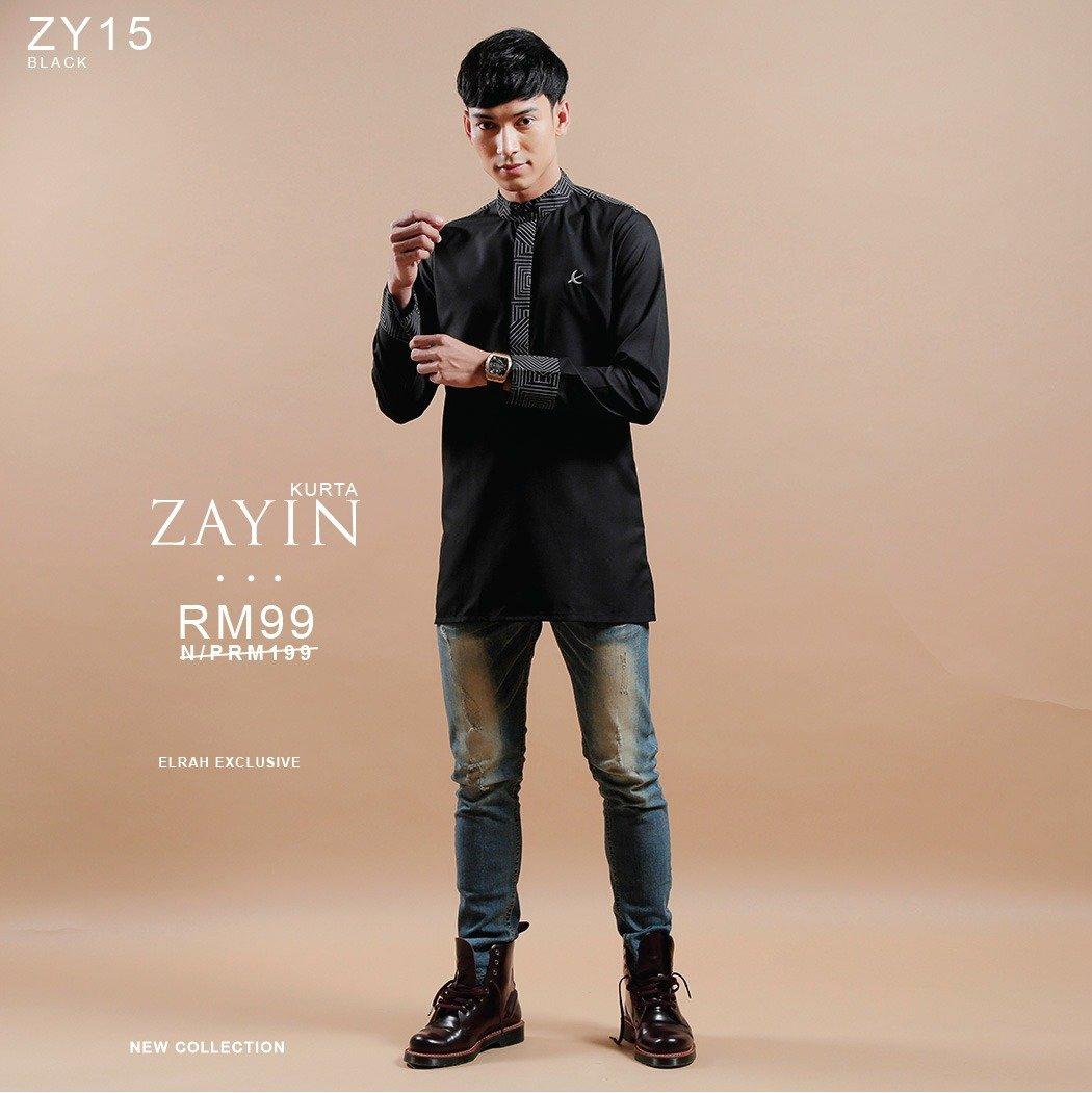 Kurta Zayin Black