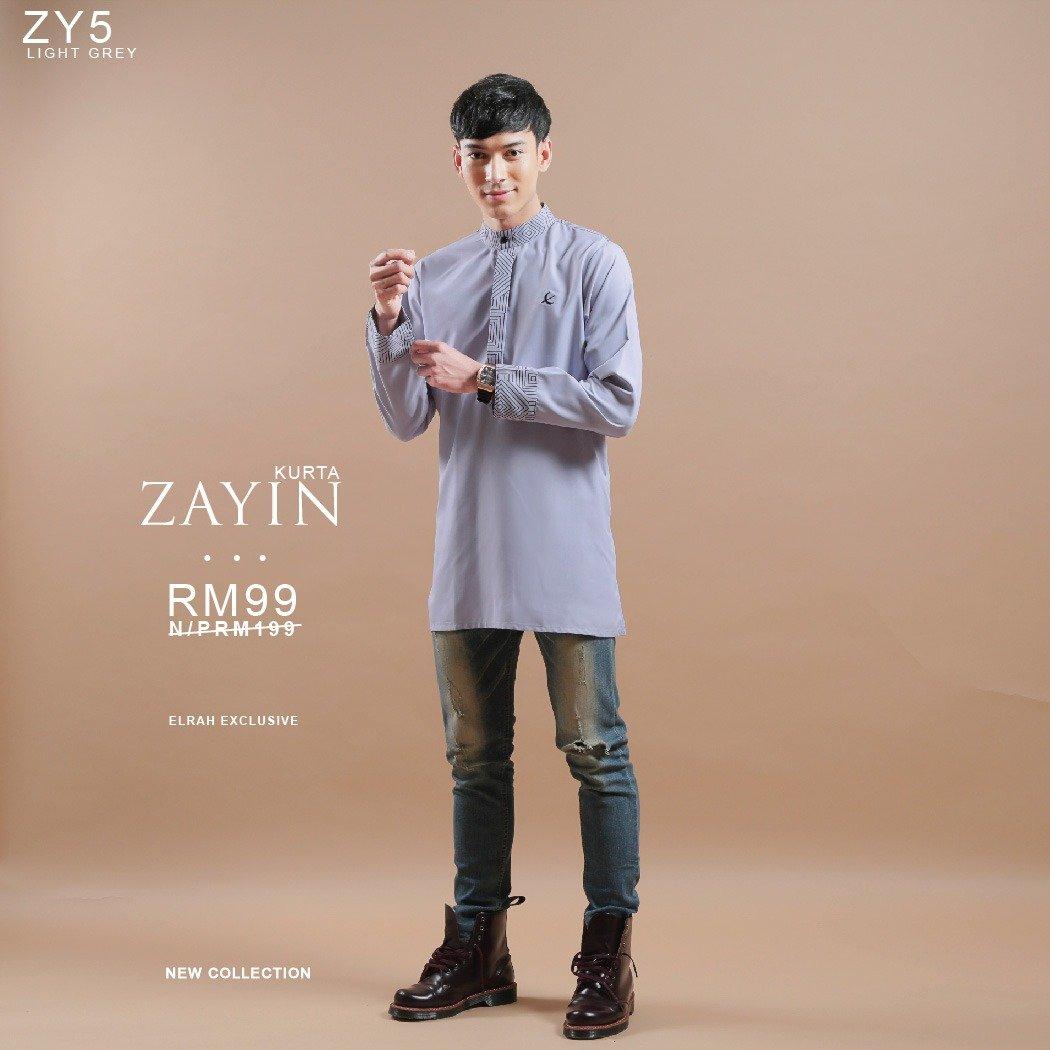 Kurta Zayin Light Grey