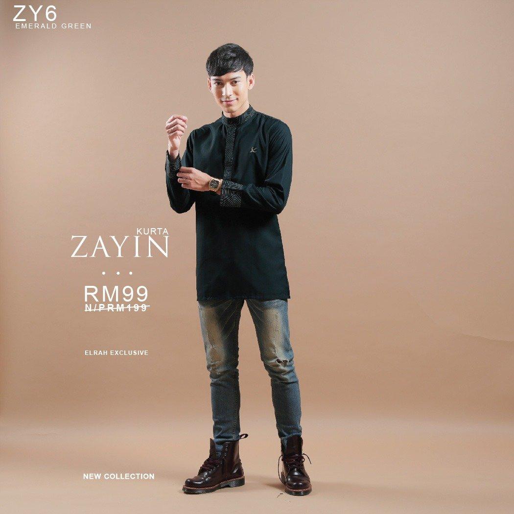 Kurta Zayin Emerald Green