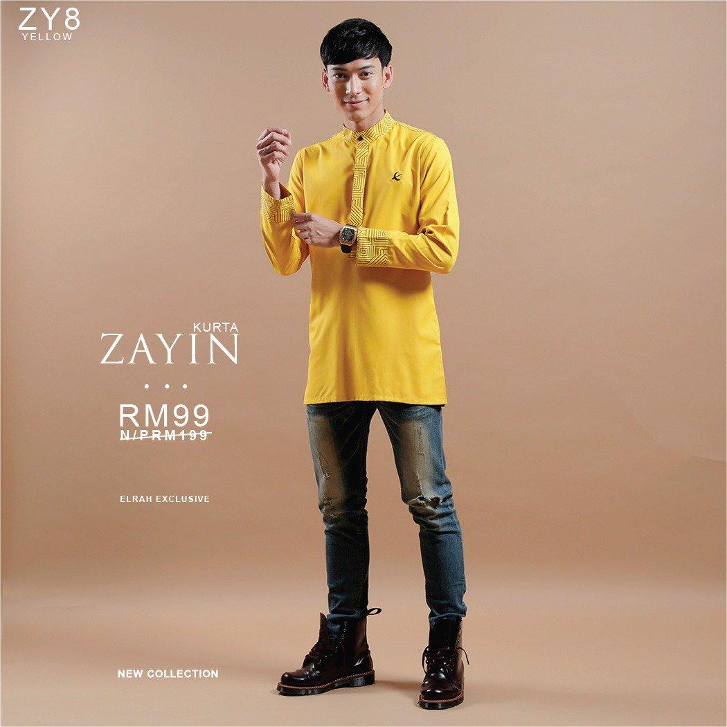 Kurta Zayin Yellow