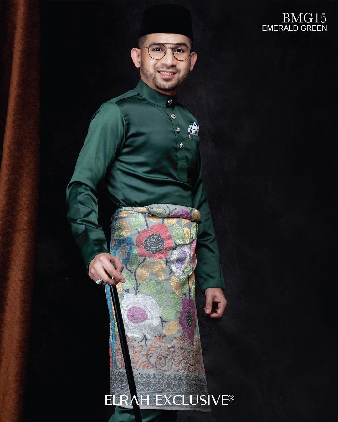 Baju Melayu Gentleman Emerald Green