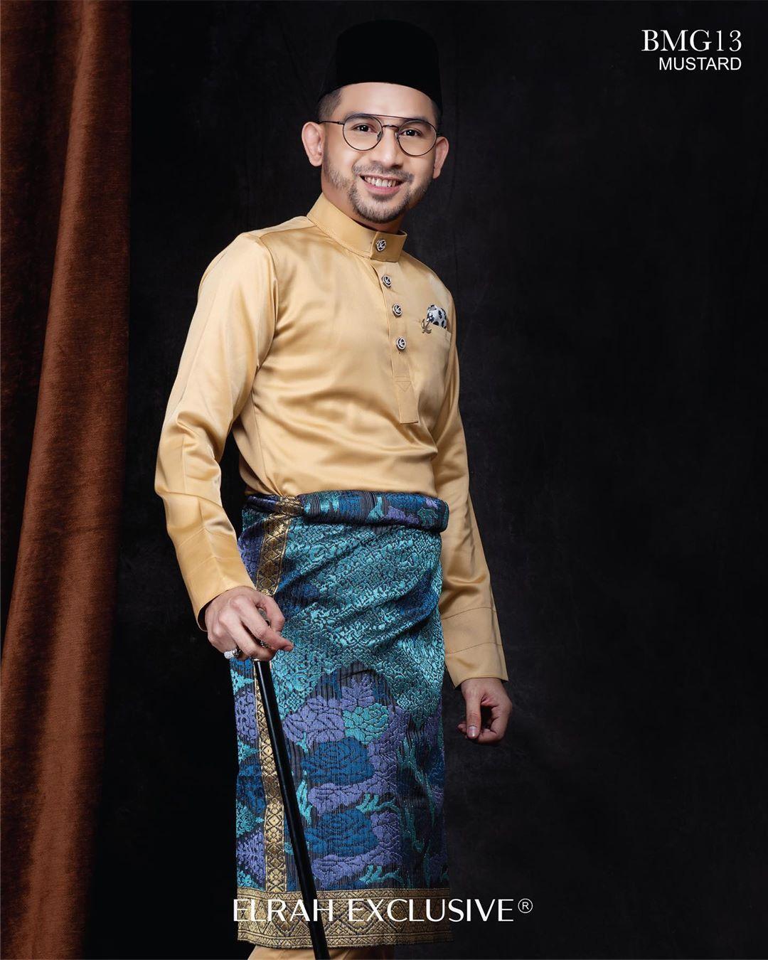 Baju Melayu Gentleman Mustard