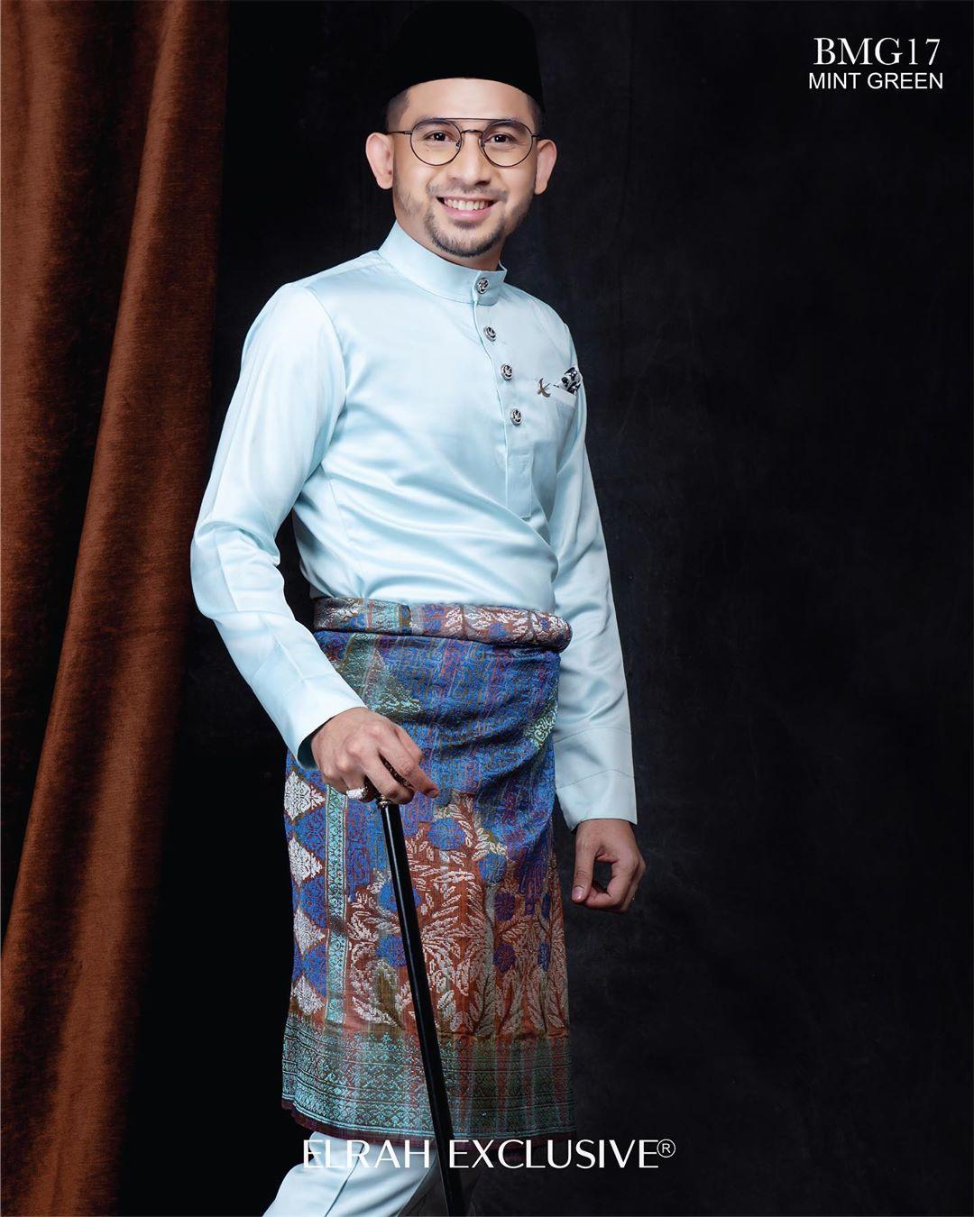 Baju Melayu Gentleman Mint Green