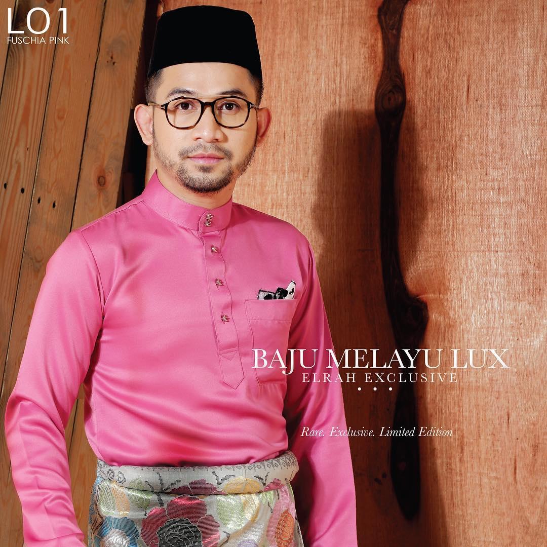 Baju Melayu Lux 1.0 Fuschia Pink