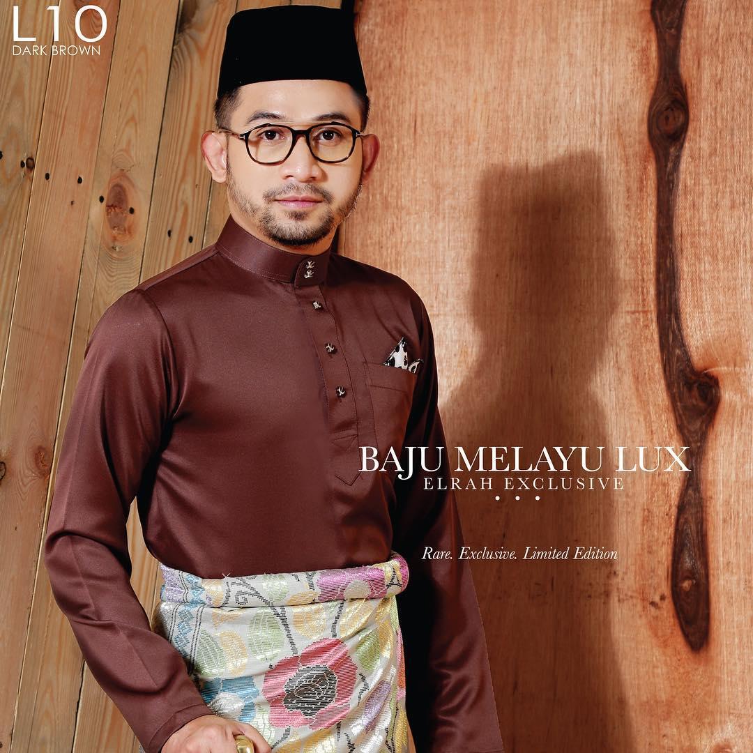 Baju Melayu Lux 1.0 Dark Brown