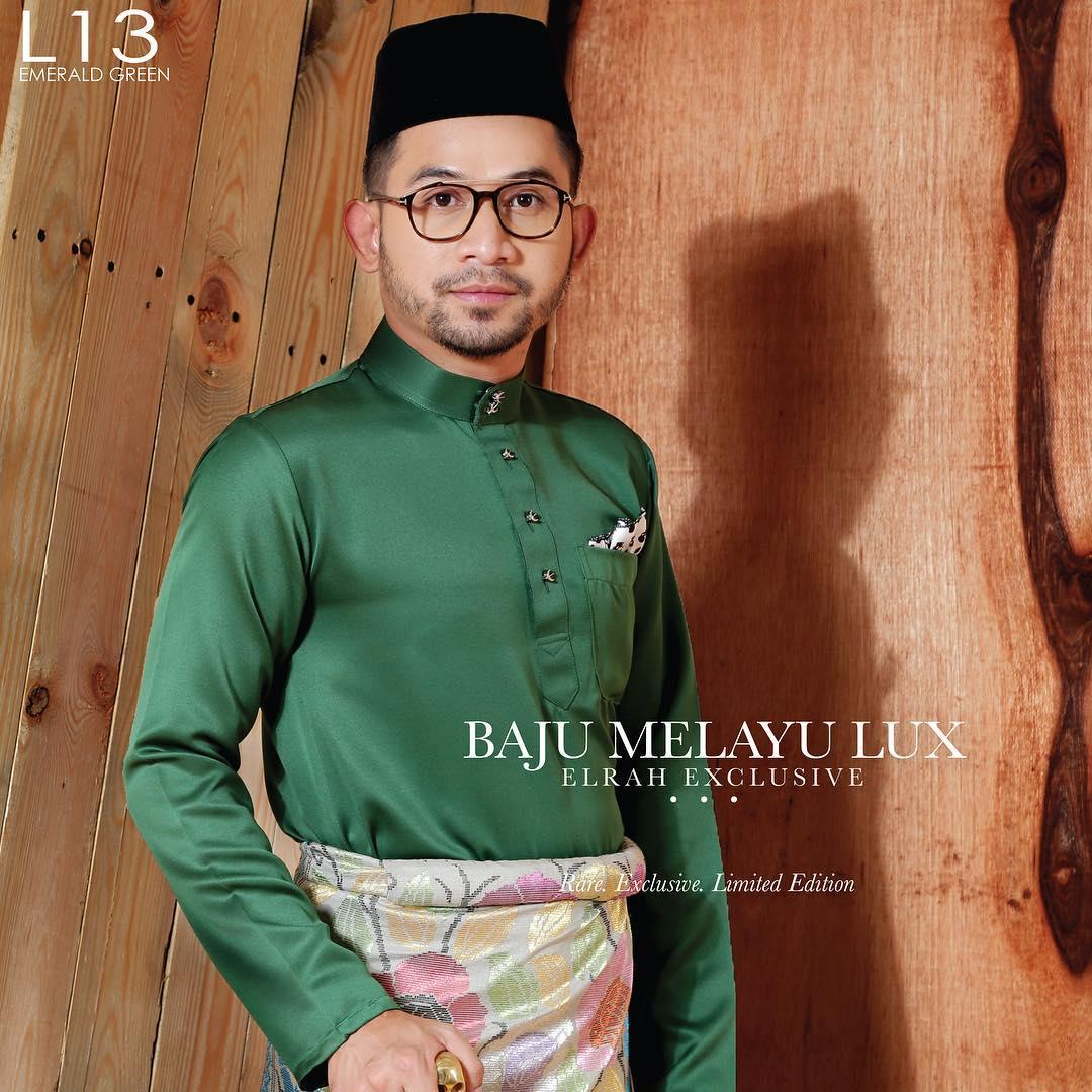 Baju Melayu Lux 1.0 Emerald Green