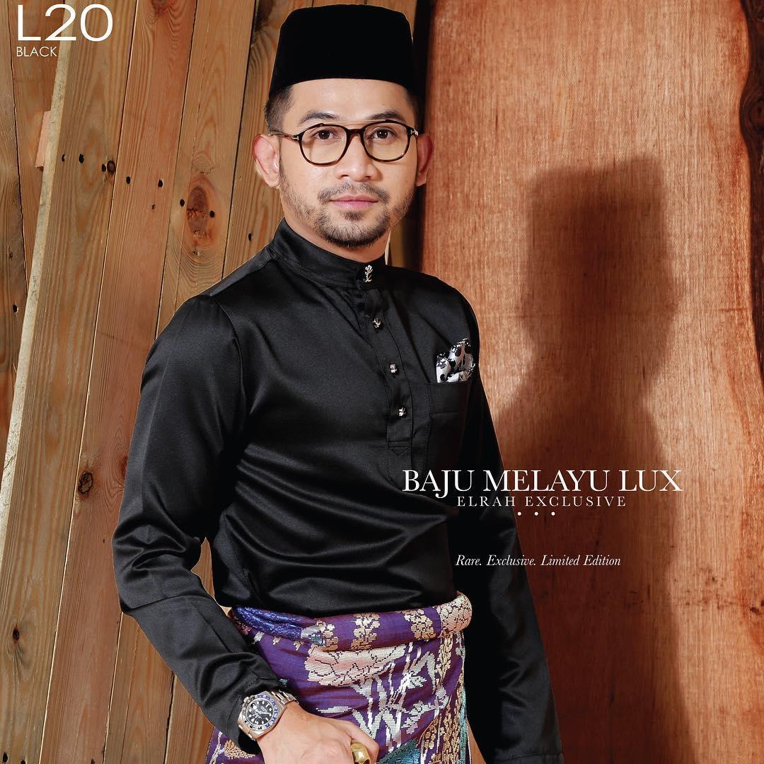 Baju Melayu Lux 1.0 Black