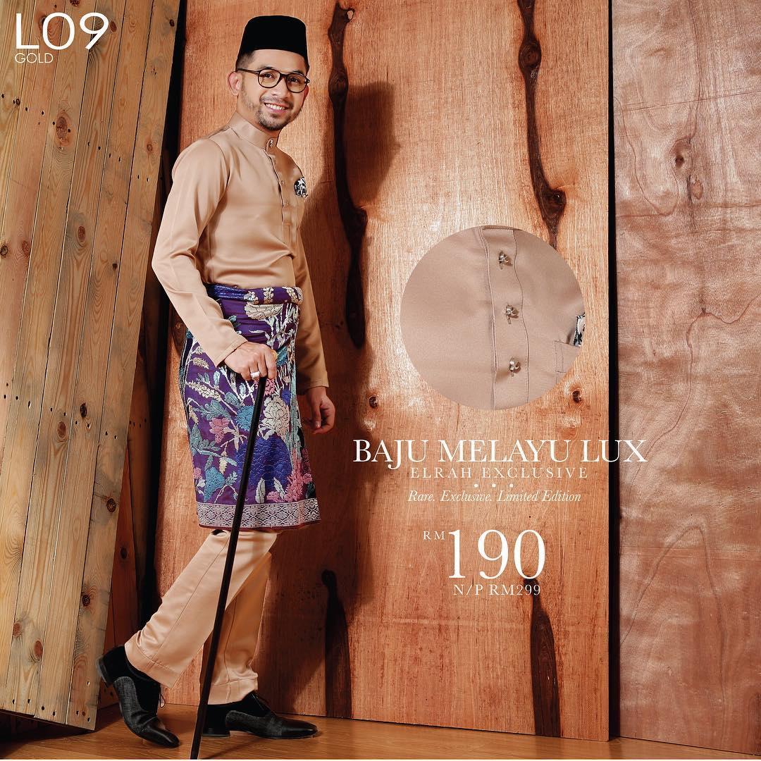 Baju Melayu Lux 1.0 Gold