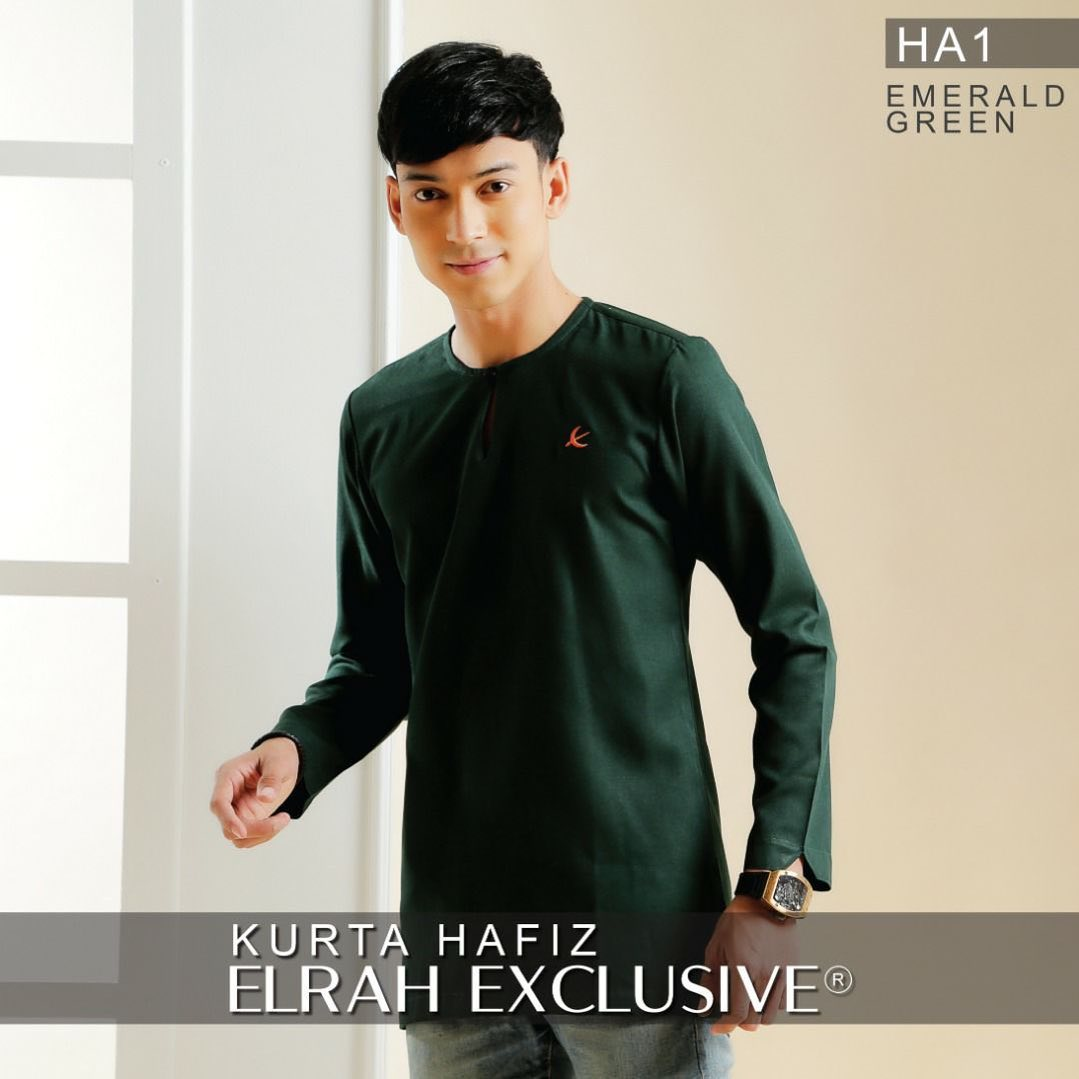 Kurta Hafiz Emerald Green