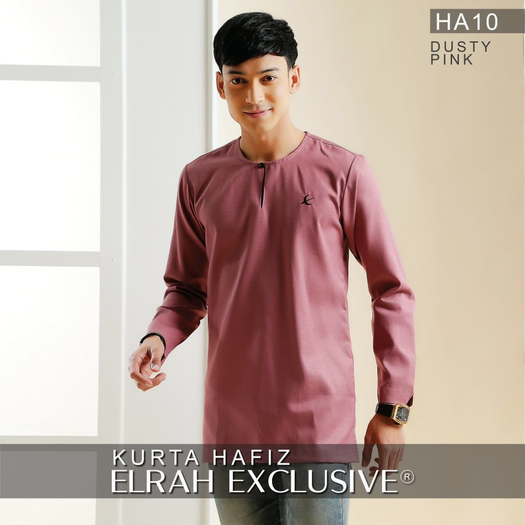 Kurta Hafiz Dusty Pink
