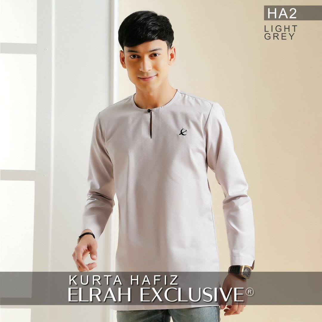Kurta Hafiz Light Grey