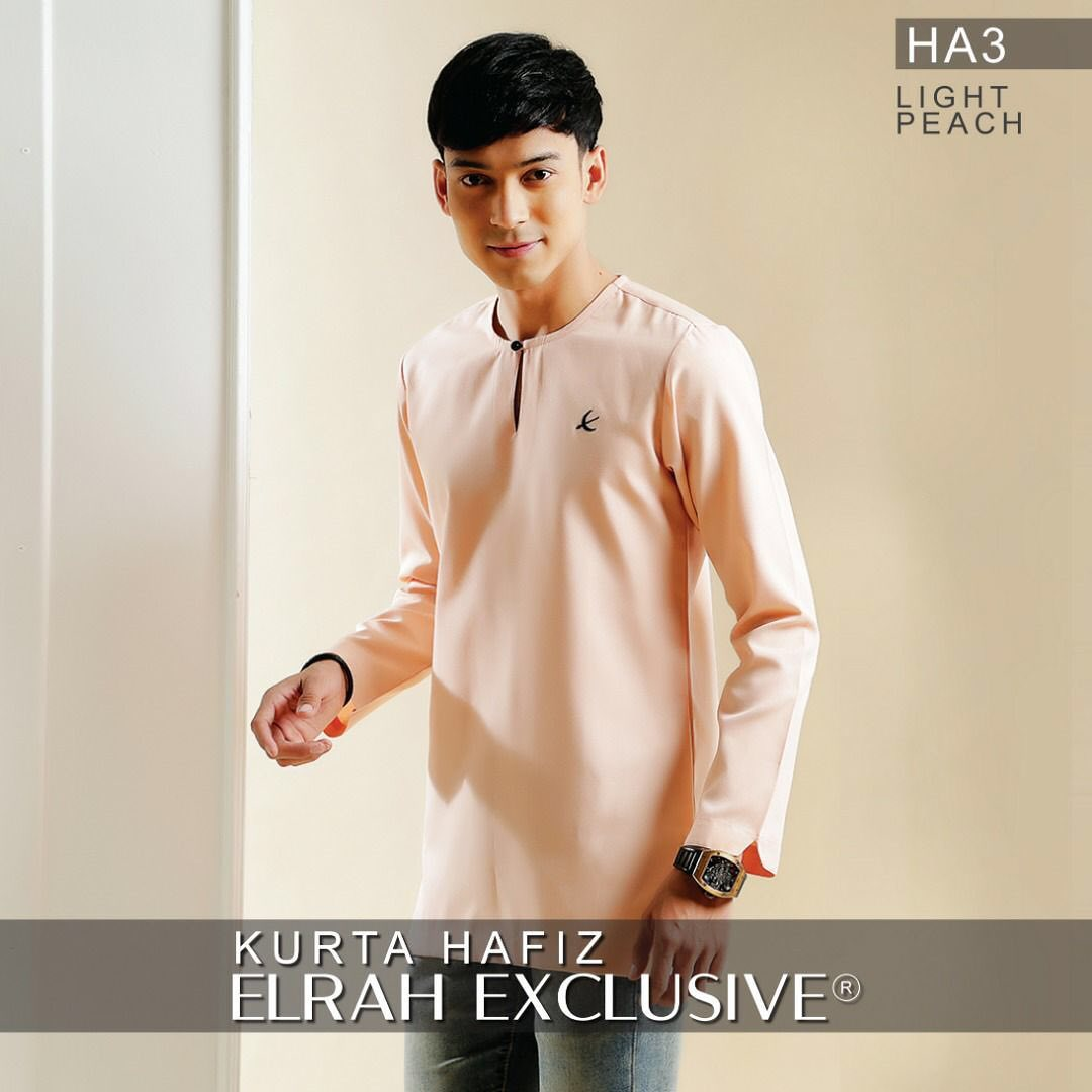Kurta Hafiz Light Peach