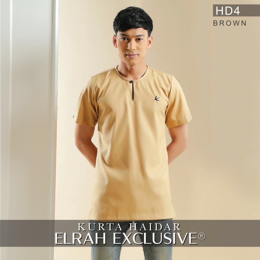 Kurta Haidar Brown