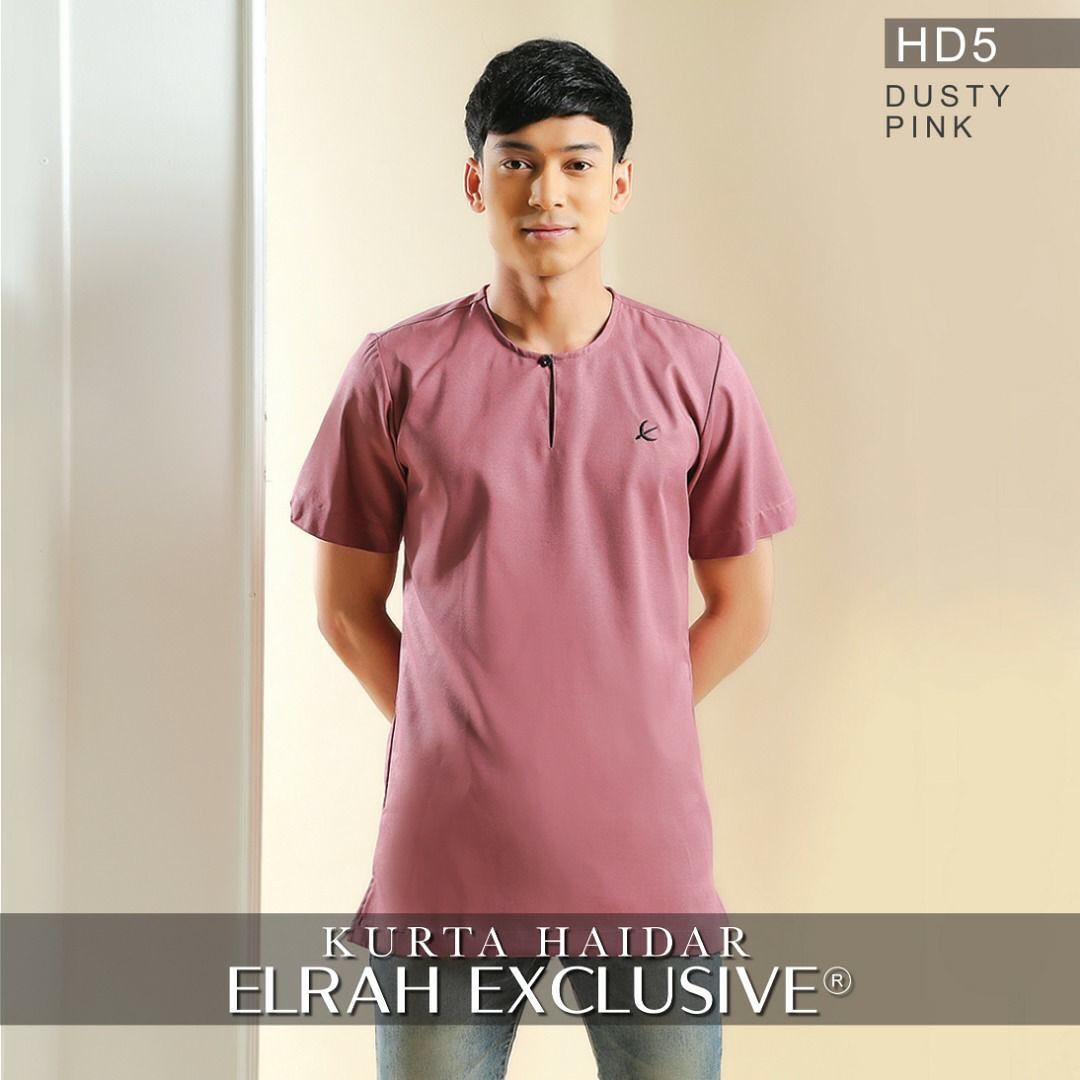 Kurta Haidar Dusty Pink