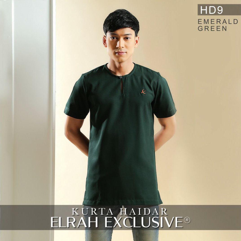 Kurta Haidar Emerald Green