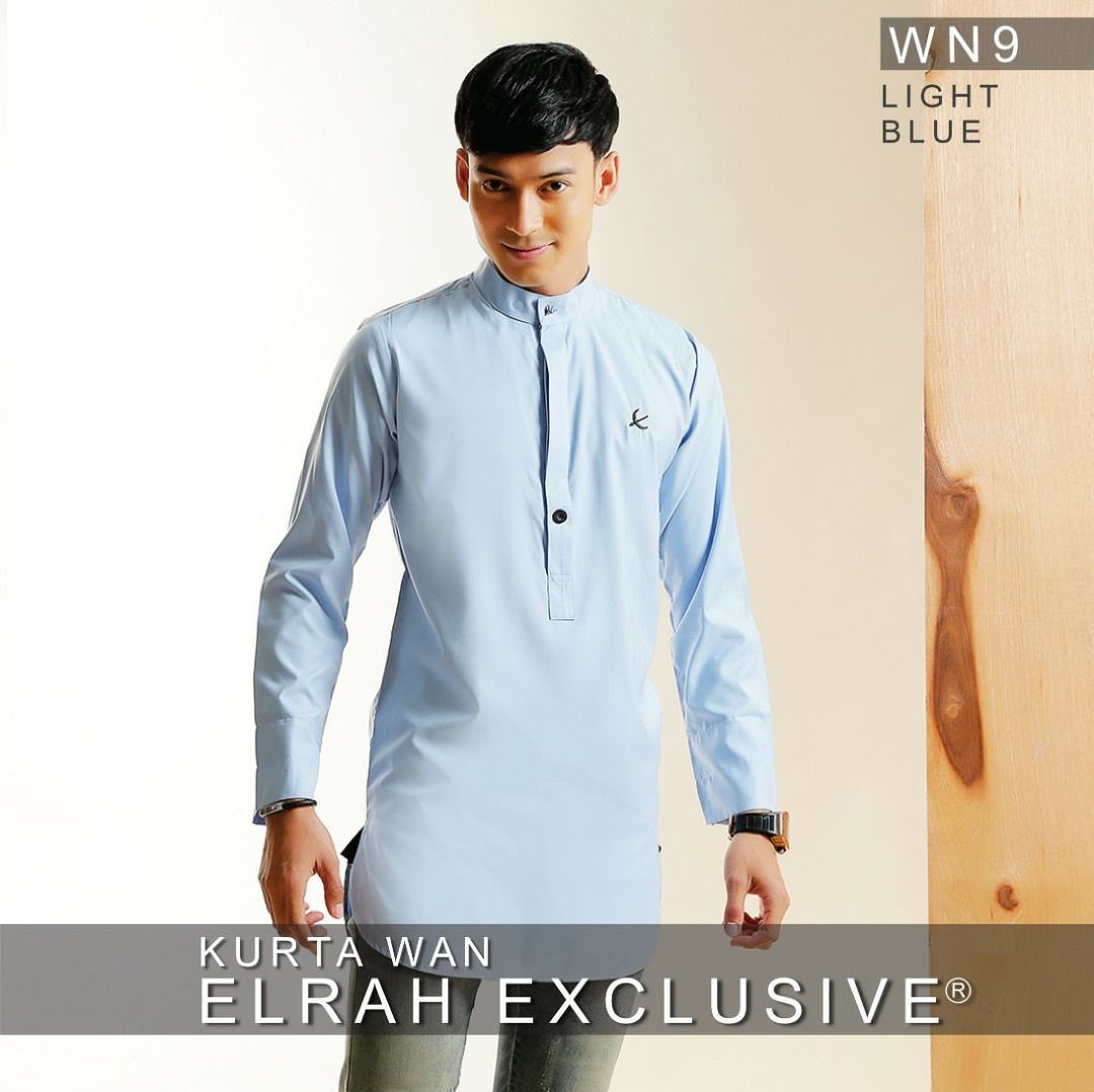 Kurta Wan Light Blue