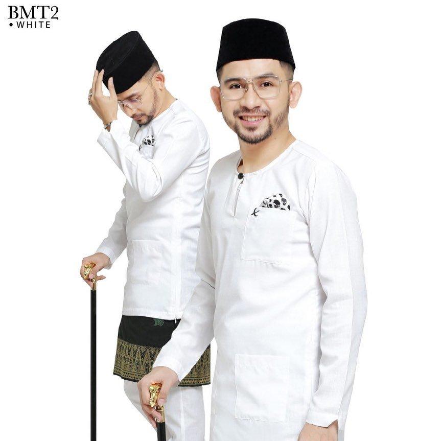 Baju Melayu TMJ White