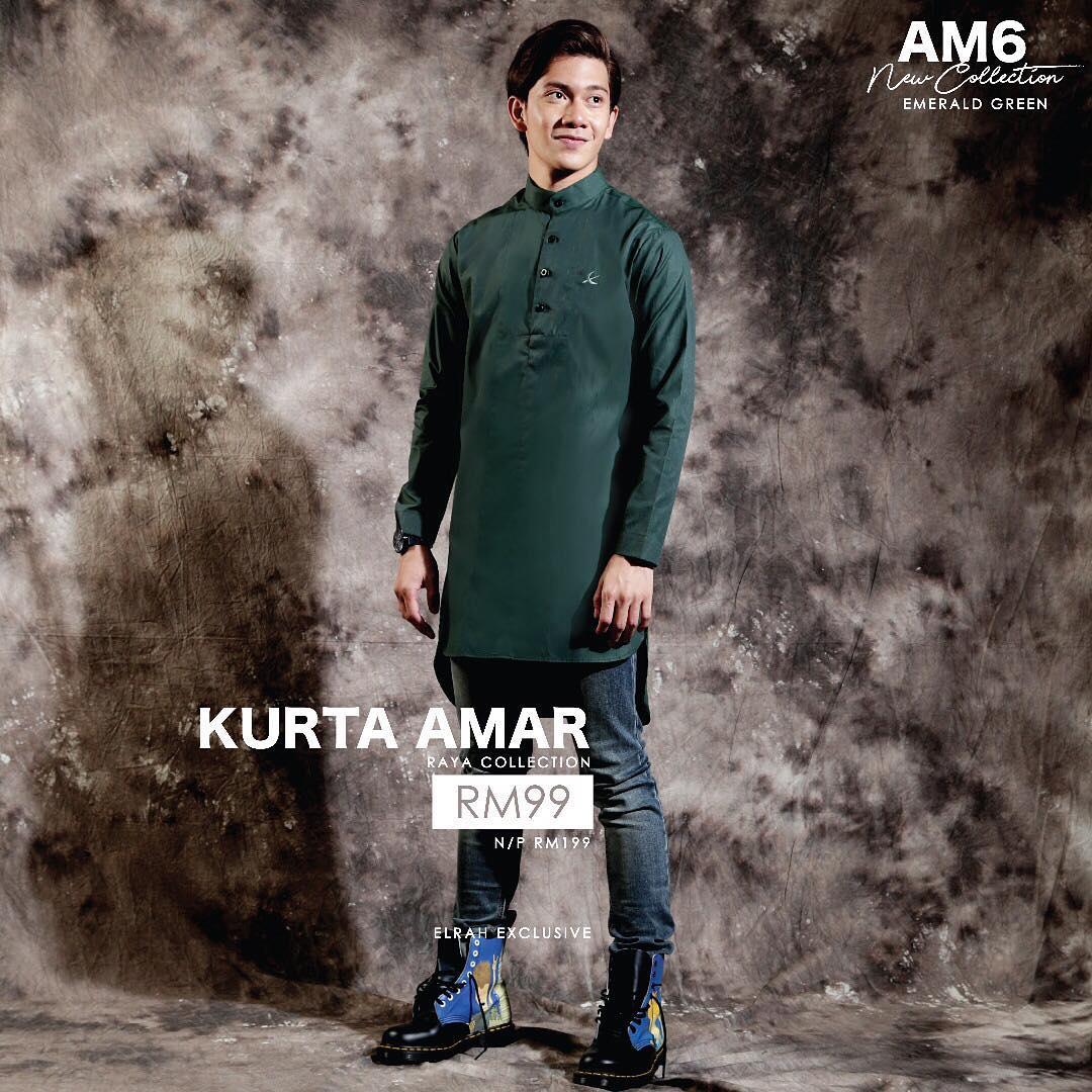 Kurta Amar Emerald Green