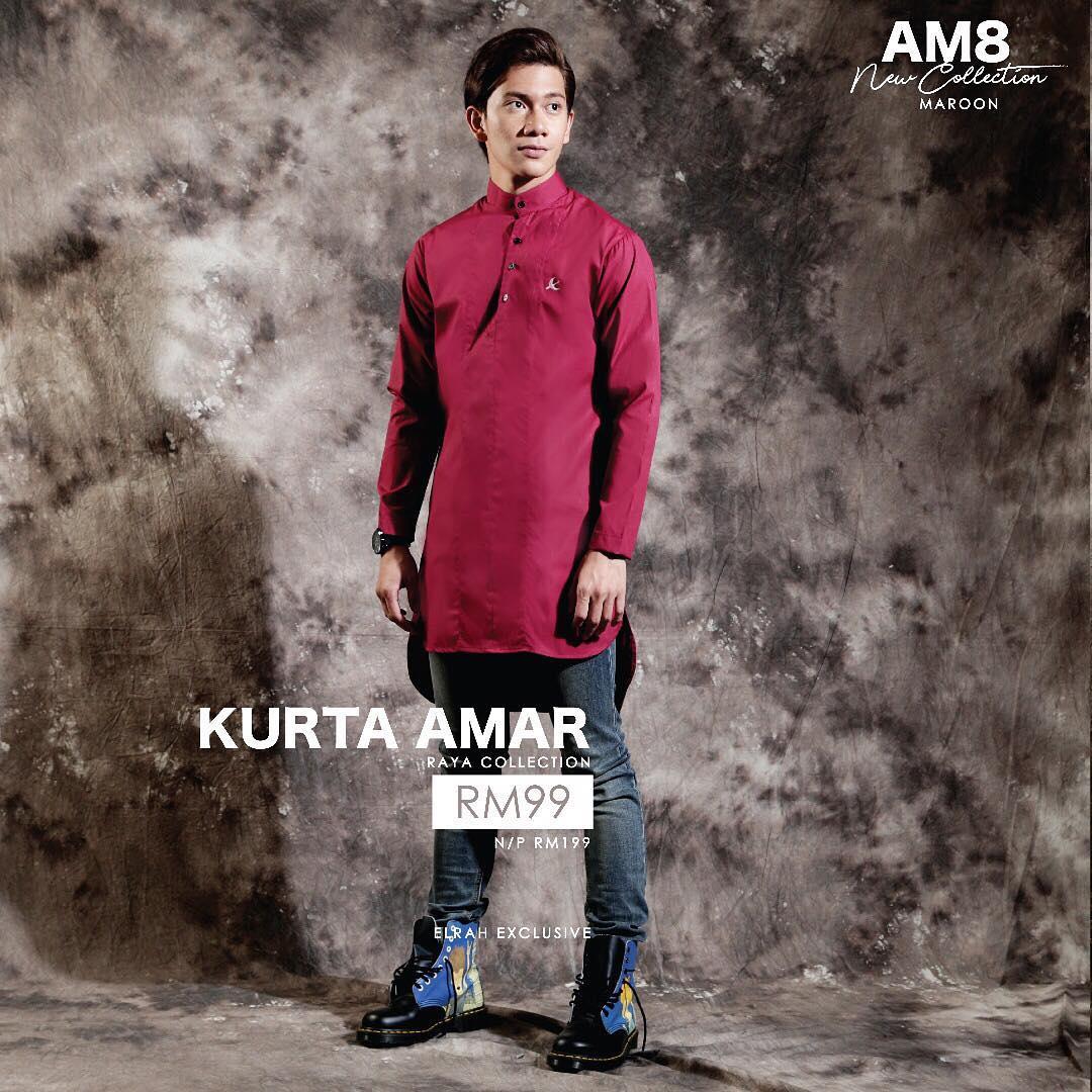 Kurta Amar Maroon