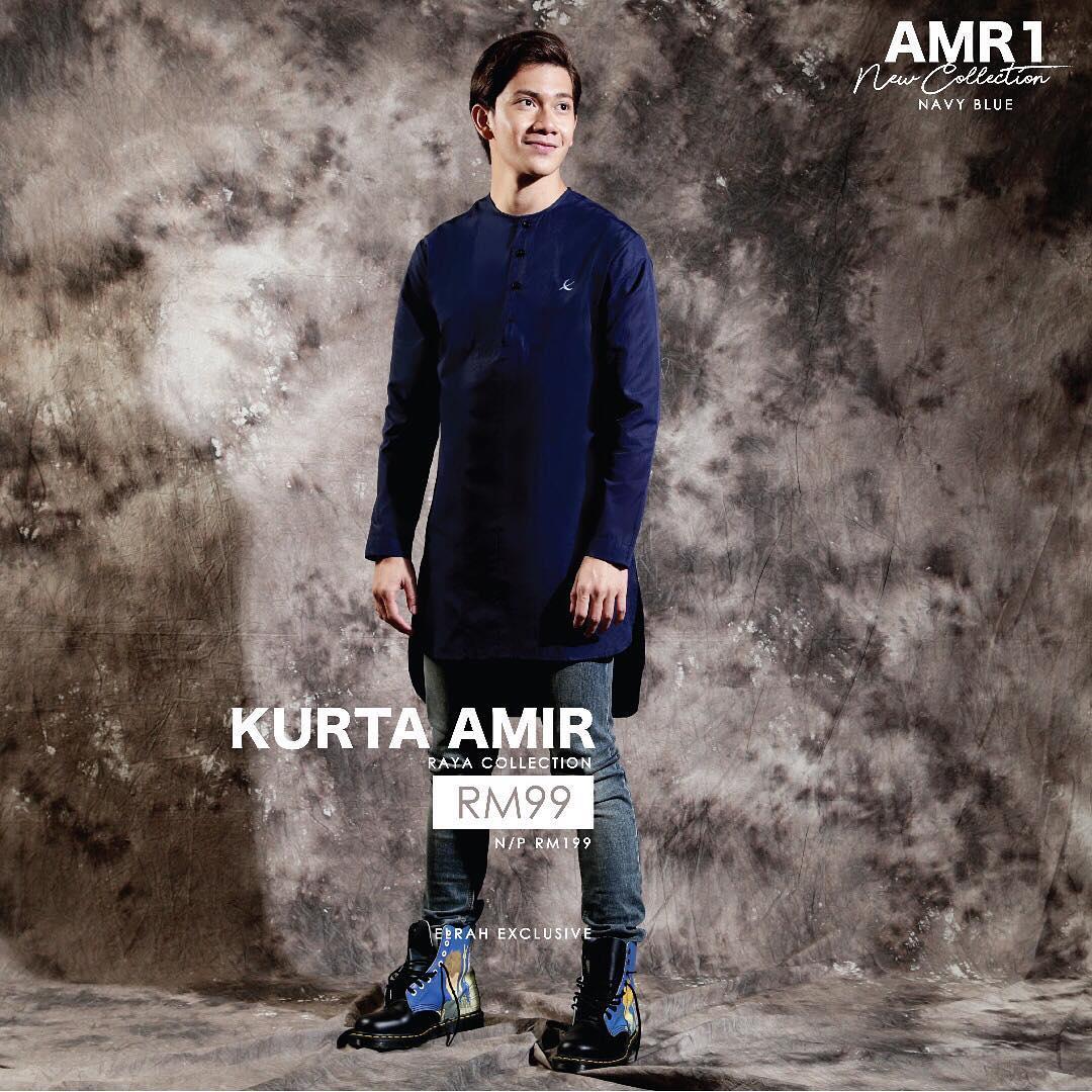 Kurta Amir Navy Blue