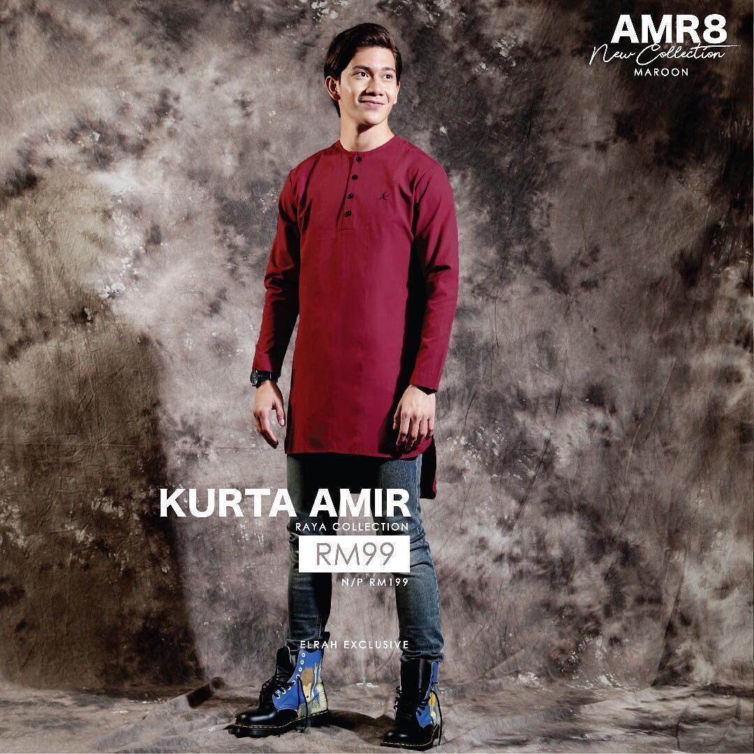 Kurta Amir Maroon