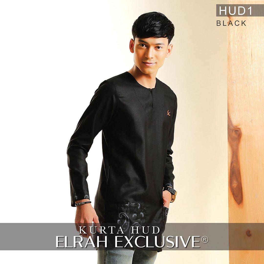 Kurta Hud Black