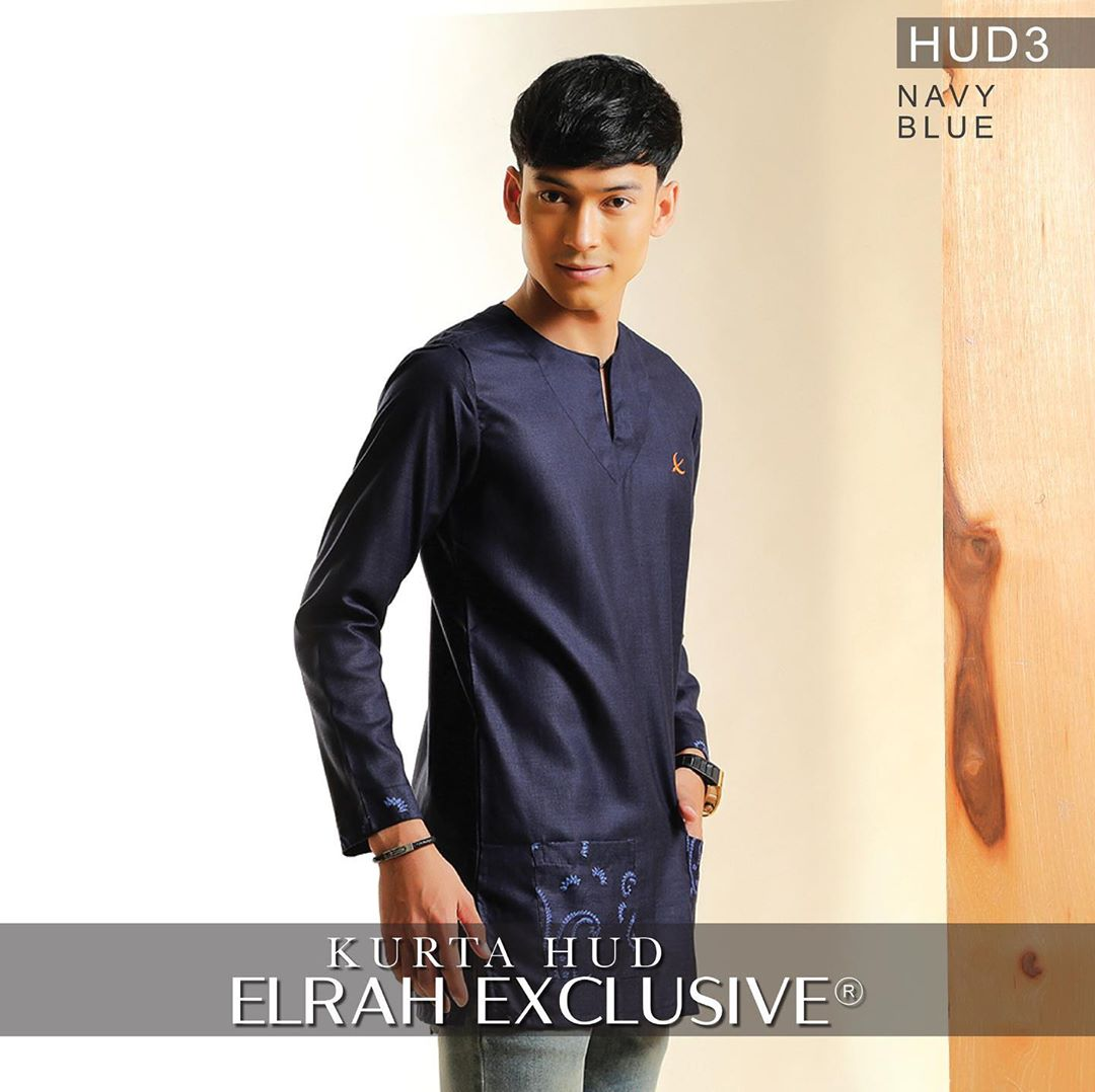 Kurta Hud Navy Blue