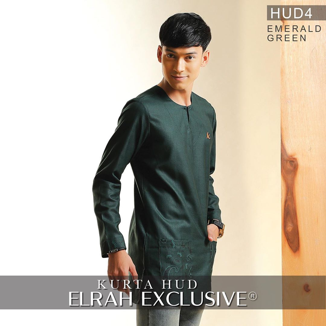 Kurta Hud Emerald Green