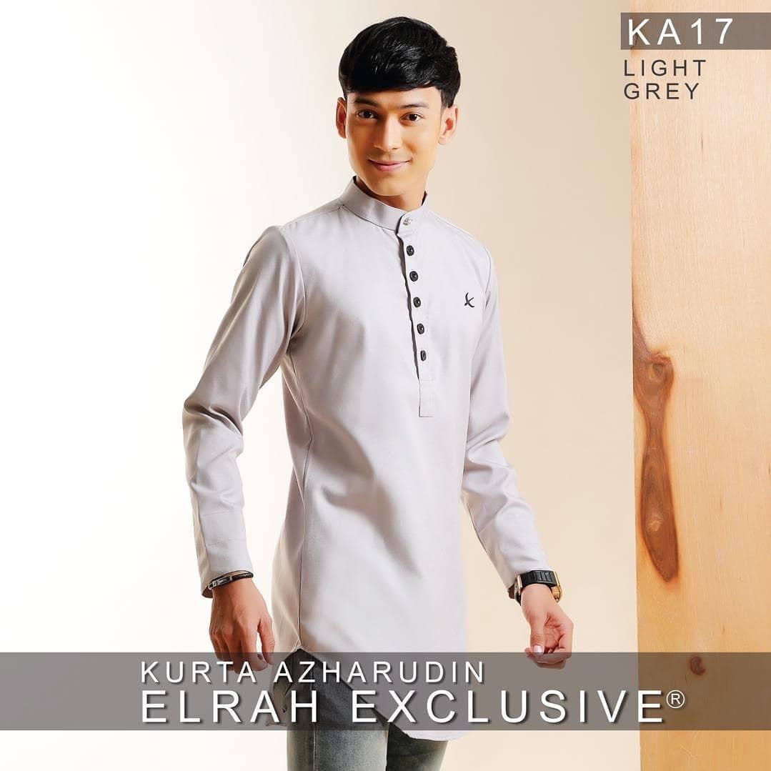 Kurta Azharudin Light Grey
