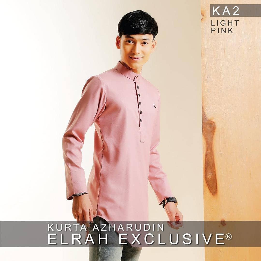 Kurta Azharudin Light Pink