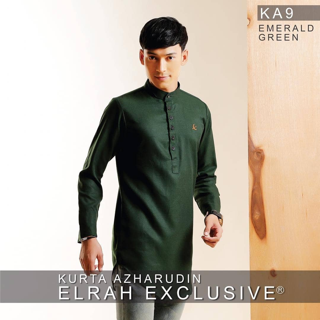 Kurta Azharudin Emerald Green