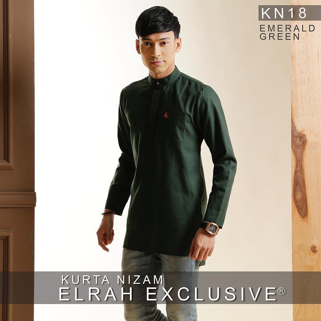 Kurta Nizam Emerald Green