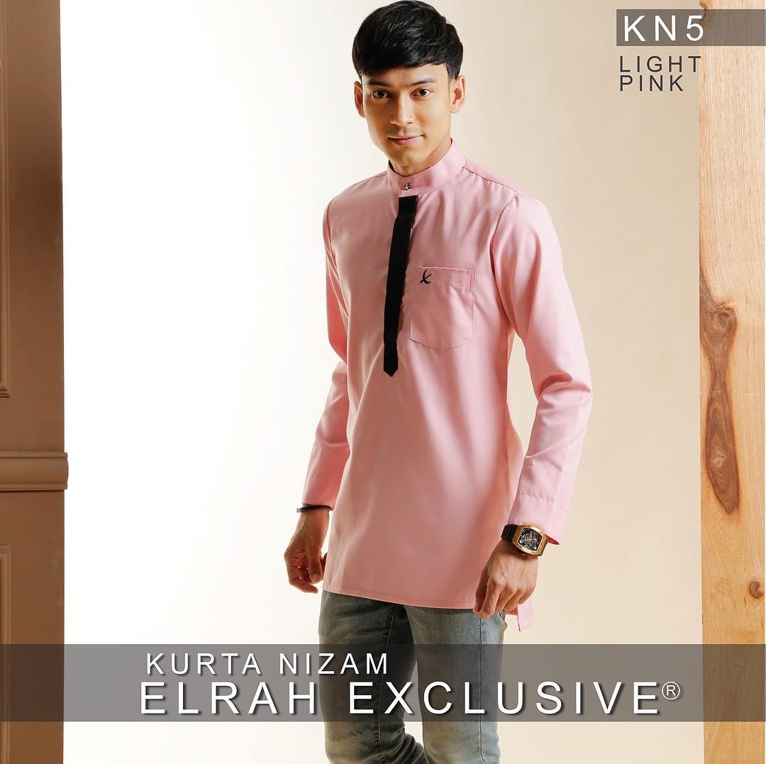 Kurta Nizam Light Pink