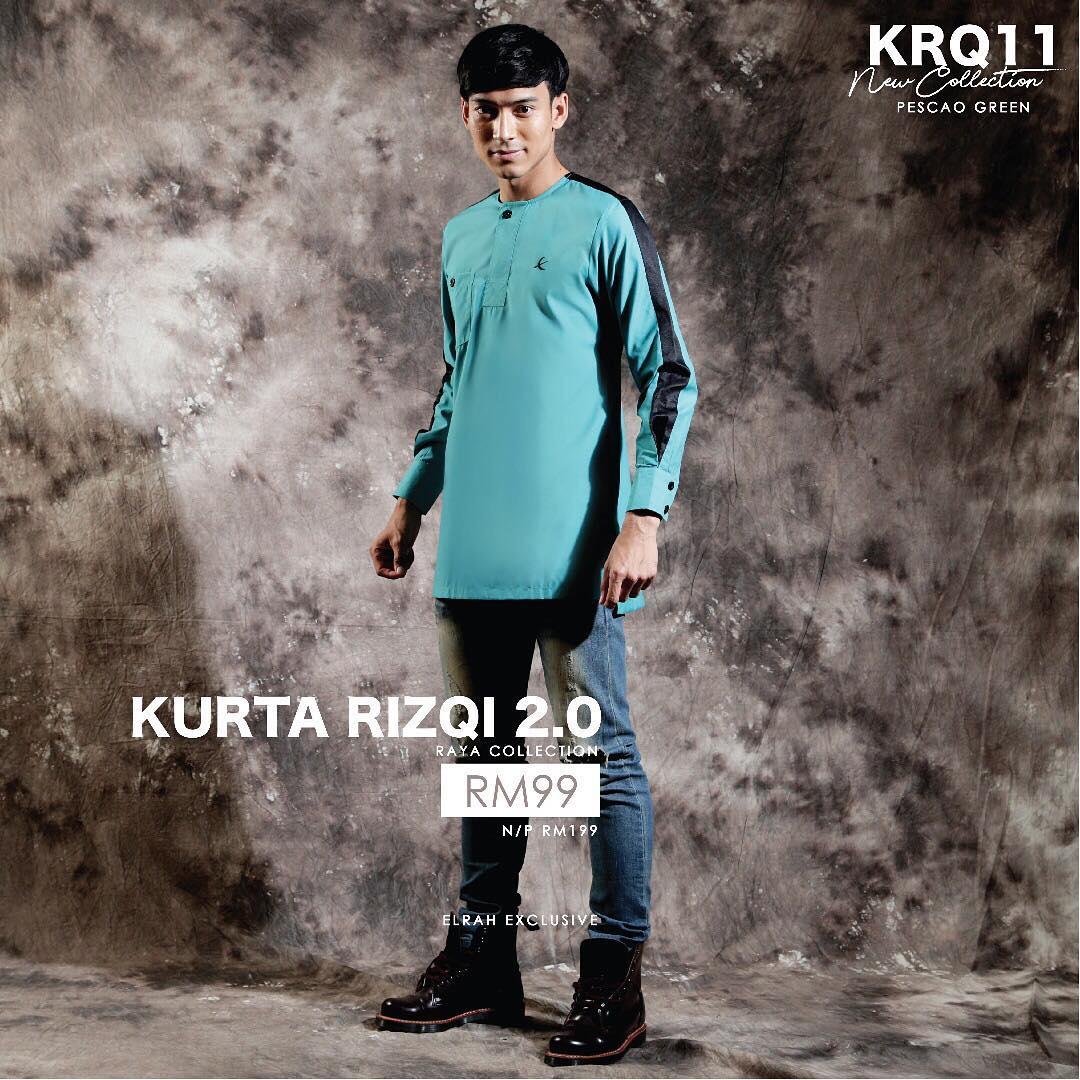 Kurta Rizqi 2.0 Maroon