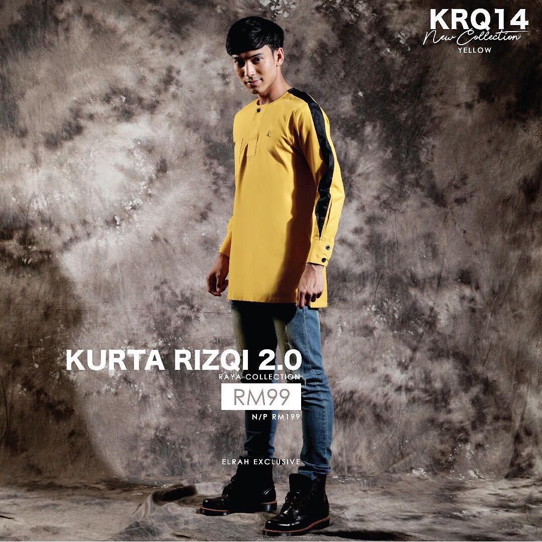 Kurta Rizqi 2.0 Yellow