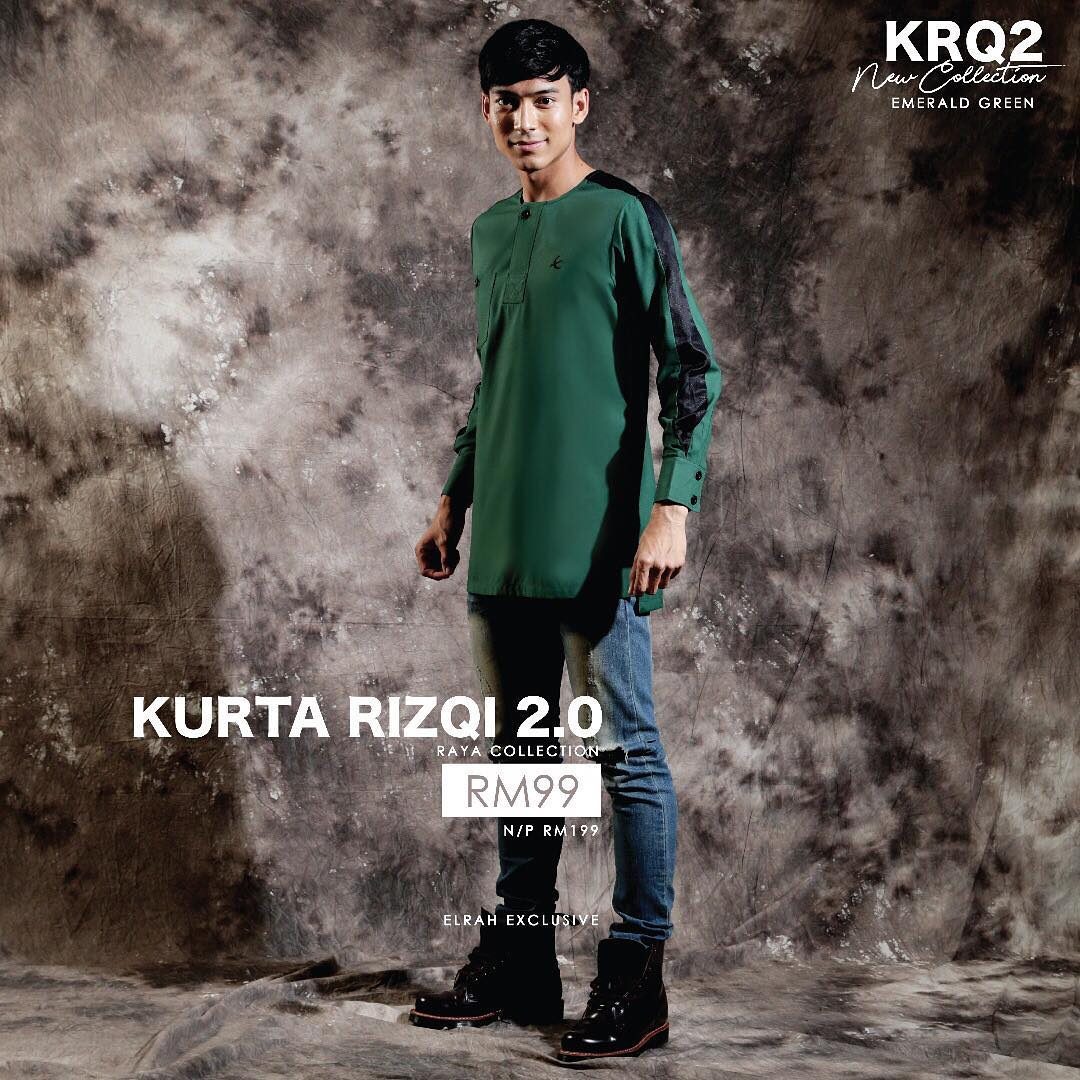 Kurta Rizqi 2.0 Emerald Green