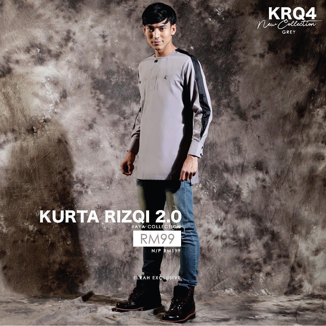 Kurta Rizqi 2.0 Grey