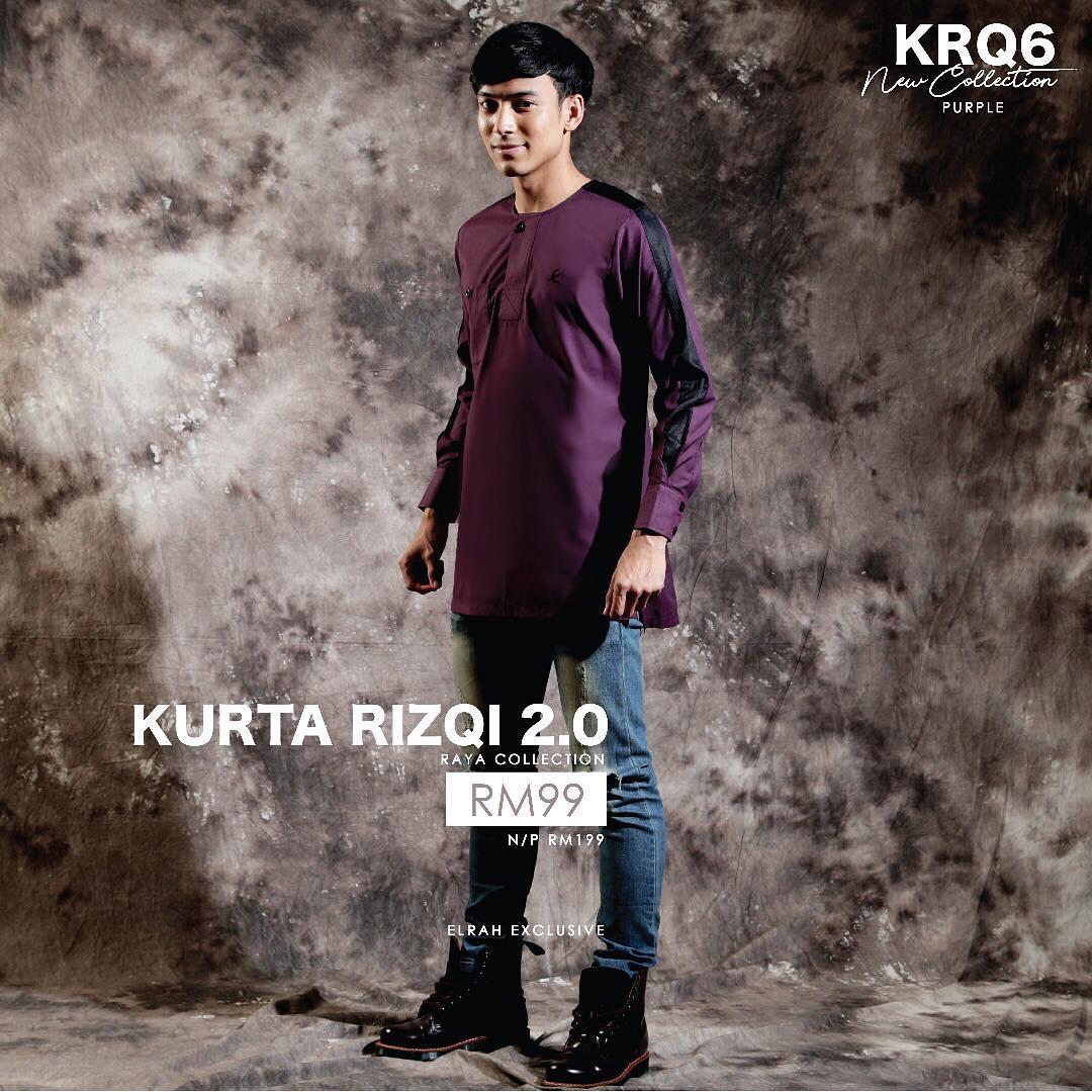Kurta Rizqi 2.0 Purple
